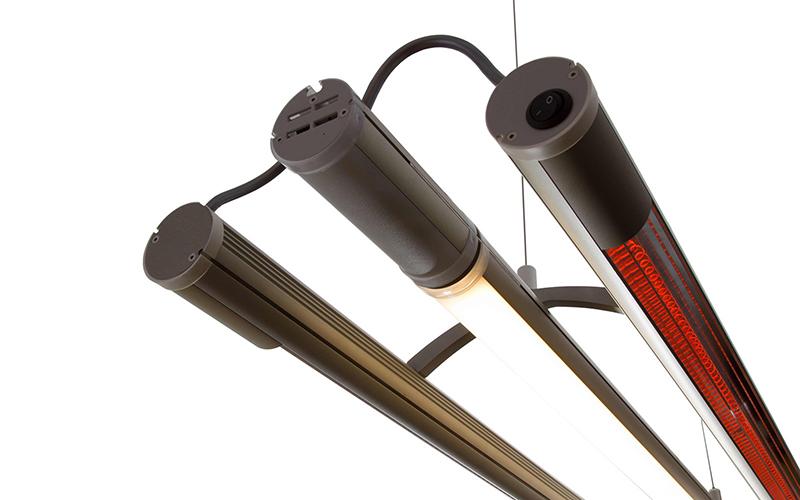 Heat4All ExtremeLine Heat-LED Kombi Tube infravörös hősugárzó
