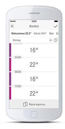 HomeMatic Vezérlések okostelefonról, tabletről, PC-ről